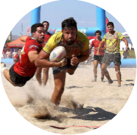 Image beach rugby