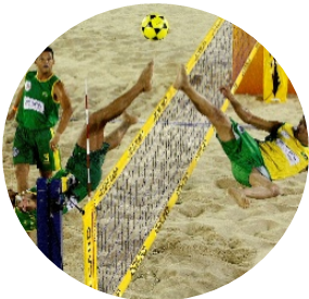 Image footy volley